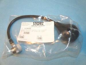 Storz 119500 Hawke Pneumatic Adapter For Ear Speculums New