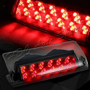 For 1993 2002 Pontiac Firebird Smoke Lens Led 3rd Third Brake Tail Stop Light