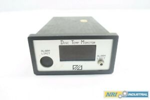 Metso Dtm 02 Disc Temperature Monitor Panel Meter 110 220v ac D548719