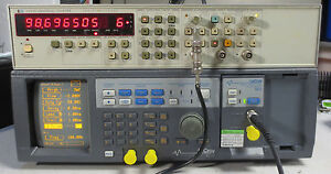 Hp 5334a Universal Counter 100 Mhz