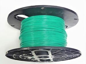 16 Gauge Wire Green 1000 Ft Primary Awg Stranded Copper Power Mtw Vw 1 Tew