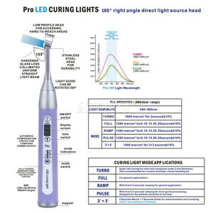 Original Woodpecker Dental Wireless Curing Light Lamp 1200mw cm 480nm Led b