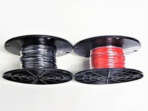 16 Gauge Tffn Tewn Wire Black Red 250 Ft Ea 600v Copper Stranded Ground Wire