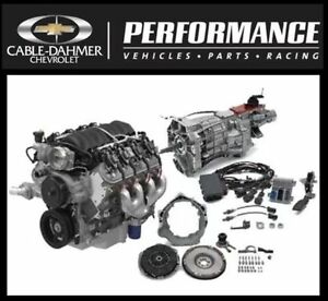 Gm Performance Ls3 480 Hp T56 Manual Connect Cruise Package Engine 19419864