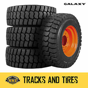 New 12 16 5 12x16 5 Galaxy Trac Star Skid Steer Tire Choose Your Rim Color