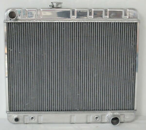 1966 1967 Pontiac Gto Tempest Lemans Aluminum Radiator 17 Core With Factory A c
