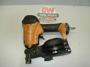 Bostitch Rn46 Coil Roofing Nailer For Shingles used