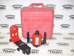 Hilti Pr10 Rotary Laser Interior Laser With Hilti Pa320 Mount Carrying Case