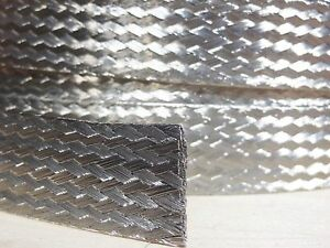 75 Ft On A Reel 1 2 Braided Ground Strap Grounding Tinned Copper Flat Braid Usa