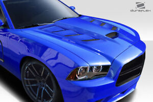 Duraflex Viper Look Hood 1 Piece For Charger Dodge 11 14 Ed113005