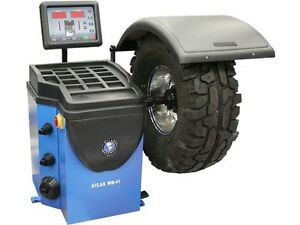 Atlas Wb41 Tire Wheel Balancer W Hood