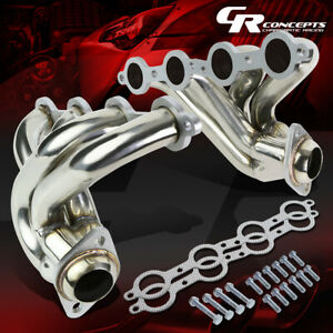 For 04 06 Pontiac Gto 5 7 6 0 V8 Stainless Steel Exhaust 4 1 Manifold Header