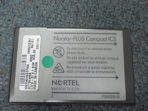 Nortel Norstar Compact Ics Cics Nt7b64ma Si 4 1 S w Wi 06 00 Software Flash Card