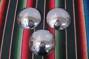 Vintage 1950 s 1960 s Baby Moon Hubcaps Custom Nos Dodge Chevy Ford Trailer