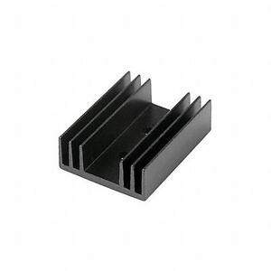 Heat Sink Aluminum Dual To 220 Devices 9w Cts 7 340 2pp ba New 25 Pcs
