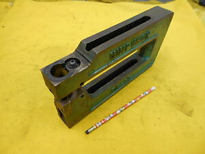 C Frame Punch Sheet Metal Hole Press Brake Tool Unit Unipunch Usa 8a 1 1 2