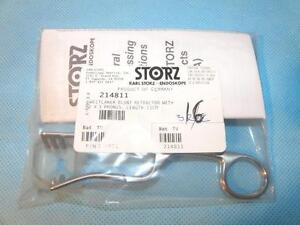 Storz 214811 Weitlaner Blunt Retractor 2x3 Prongs 11cm New