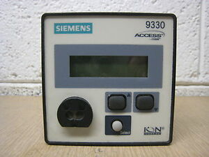 Siemens 9330 9330dc 100 0zzzza Ion Access Advanced Power Meter Free Shipping