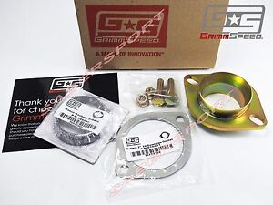 Grimmspeed 3 Downpipe To Oem Catback Exhaust Adapter W Gasket For Wrx Sti