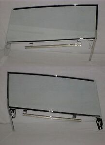 61 64 Buick Chevy Olds Pontiac Convertible Door Glasses Assembled Left Right Cl