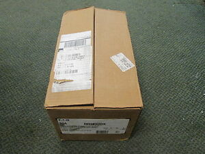 Eaton Non fusible Safety Switch Dh261udk 30a 600v 2p New Surplus