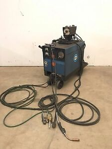 Miller Cp 250ts Constant Potential Dc Arc Welder Power Supply 10 e Wire Feeder