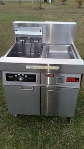 Frymaster Electric Deep Fryer Model Fmh122sd 208v 3ph Xtra Clean Y To Buy New