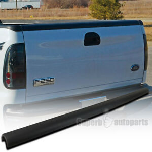 1999 2007 Ford F250 F350 Superduty Black Tailgate Cap Molding Protector Cover