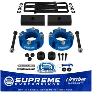3 Front And 1 Rear Lift Kit For 2007 2020 Toyota Tundra 4wd With Diff Drop