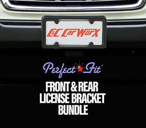 Front Rear License Brackets For 2014 15 16 Subaru Forester 2 5i Fo 14 Fp C