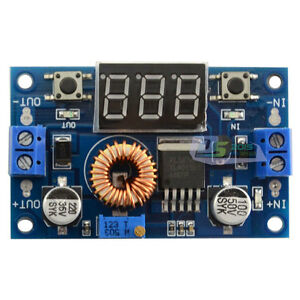 10 step Down Dc dc Adjustable Converter Power Supply Module Voltmeter 75w Pro