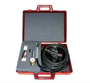 Lincoln Tig Torch Starter Soldering Welding Kit Water Cooled Gas Hose Mate 20