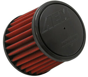 Aem 21 2031d hk Dryflow 3in X 5in Round Tapered Air Filter