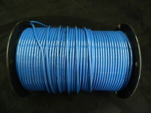 10 Gauge Thhn Wire Stranded Blue 100 Ft Thwn 600v Building Machine Cable Awg
