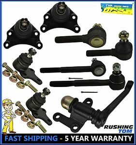 Front Ball Joint Tie Rod Idler Arm Kit 9pc Kit For 1989 1995 Toyota Pickup Rwd