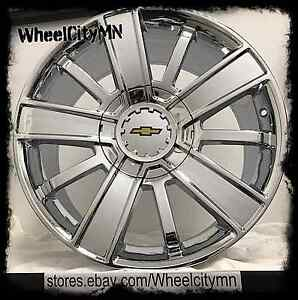 20 Inch Chrome 2017 Chevrolet Silverado 1500 Oe Factory Replica Wheels 6x5 5 27