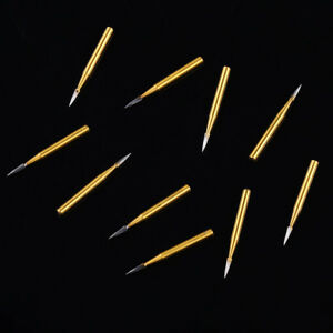 50pcs Dental Trimming Finishing Drills Tungsten Carbide Burs Fg 7901