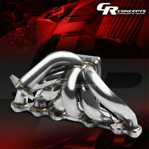 For 93 98 Toyota Supra 2jz 2jzgte T4 Stainless Racing Turbo Charger Manifold Kit