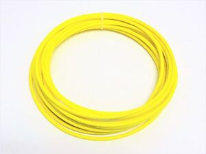 Automotive Wire 10 Awg High Temp Gxl Wire Yellow 75 Ft On A Spool Made In U s a