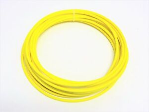 Automotive Wire 10 Awg High Temp Gxl Wire Yellow 100 Ft On A Spool Made In U s a