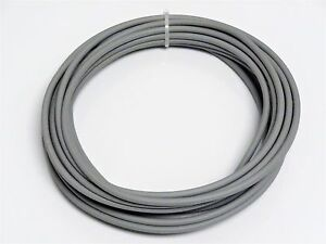 Automotive Wire 10 Awg High Temp Gxl Wire Grey 100 Ft On A Spool Made In U s a