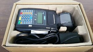 Hypercom T7 Plus Credit Card Machine 512 Kb Memory Thermal Paper Printing