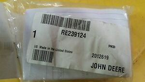 John Deere Oem Part Re239124 Hydraulic Scv Repair Kit Compensator Assembly