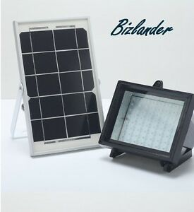 Bizlander 5 Watts 60led Solar Flood Light Outdoor Spotlight Solar Panel For Sign