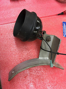 Bs3 Vintage Farm Tractor Fender Light With Mounting Bracket 5 Dia Farming