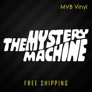 The Mystery Machine Retro Vinyl Decal Sticker Scooby Doo Cartoon Window 176