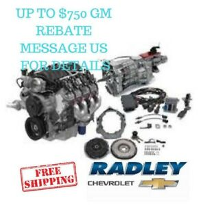 Chevrolet Oem Gm Performance Ls3 525 Connect Cruise Package Engine 19301360