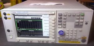 Keysight agilent E4406a Vector spectrum Signal Analyzer With Rear Output And 202