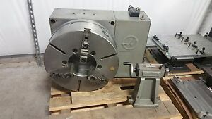 Used Haas Hrt 450 Brushless 4th Axis Rotary Table Indexer