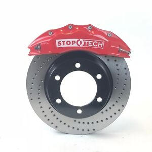 Toyota Tacoma 2005 19 Sos Big Brake Kit Trd Rotors Stoptech 6 Piston Calipers